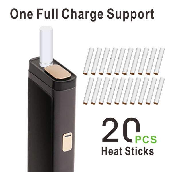 (Black) LAMBDA T3 Heat Not Burn Tobacco Heating Device, Compatible with All IQOS Heatsticks in Dubai:UAE